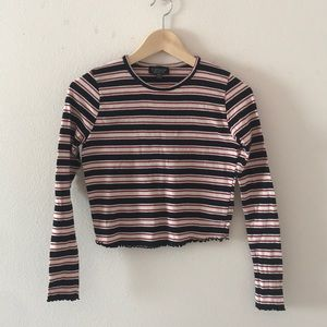 TopShop Striped Long Sleeve